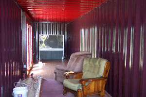Cottage made from a 40 foot container Windsor Region Ontario image 1