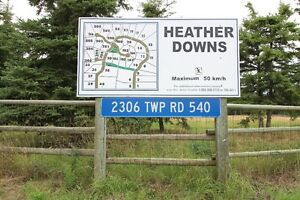 RURAL LAC ST ANNE LAND FOR SALE - HEATHER DOWNS