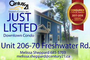 Large downtown Condo