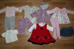 Newborn & 0-3 Mos Baby Girl Clothing Lot