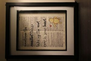 framed Winnie the Pooh pictures
