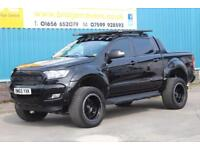 2016 FORD RANGER WILDTRAK 4X4 DCB 3.2 TDCI 200 BHP AUTOMATIC PICK UP, 1 OWNER, 8