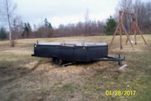 BACKYARD TRAILER NO PAPPERS SALE OR TRADE