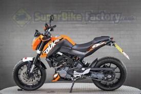 2014 64 KTM DUKE 125CC 0% DEPOSIT FINANCE AVAILABLE
