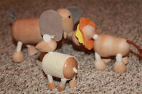 Wooden Animal Toys for Baby