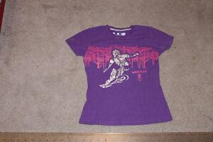 Girl's Purple Vancouver Shirt Size 10