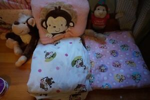 Monkey girl bedding and a ton of other stuff London Ontario image 4