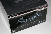 PS3-BATMAN ORIGINS-COLLECTOR EDITION+FIGURE+MOVIE (NEUF/NEW)