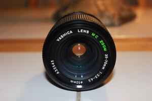 Yashica 35-70mm 1:3.5-4.5 Zoom Lens