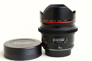 Mint Condition Canon EF 14mm f2.8 L USM. PRICE DROP ON ITEMS