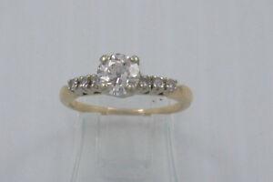 Antique Diamond Engagement Ring and Wedding Band Peterborough Peterborough Area image 2