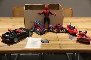 Collection of Spiderman Toys For Sale