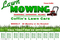 Grass Cutting Services - Coffin's Lawn Care