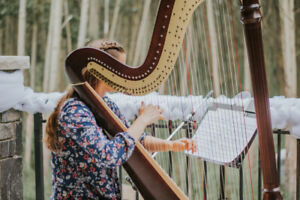 Professional Harpist for Weddings & Special Events!