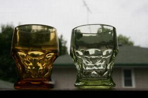 "Vintage Georgian pattern 3.5""; High Glass Tumblers - $10.00"