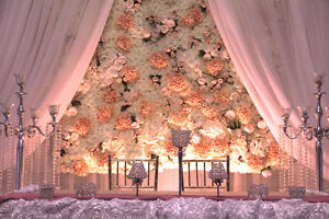 flower wall to rent south asian weddings gta wedding decor wedding mississauga peel. Black Bedroom Furniture Sets. Home Design Ideas