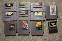 NES NINTENDO GAMES SYSTEM & Sega COLLECTIBLES - Made in Japan