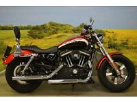 Harley Davidson XL1200 2012** STAGE 1 KIT, DRAG BARS, SERVICE HISTORY