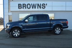 "2015 Ford F-150 4x4 - Supercrew Platinum - 157"" WB"