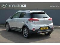 2017 Hyundai i20 1.0 T-GDi Active (ISG) (100ps) Petrol silver Manual