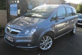 2006 Vauxhall Zafira Design 1.9CDTi 150PS 5 Door Grey 7 SEATER Finance Available