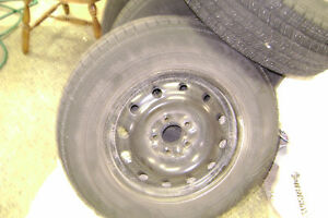 225/70R16 winter tires and rims Peterborough Peterborough Area image 1