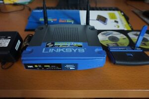 Linksys Wireless-G Router + Free Extras