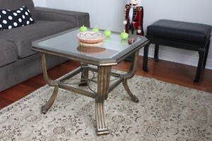 Vintage Chateau coffee & side table
