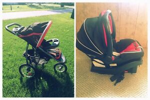 Graco Stroller and Car Seat. Excellent Condition!