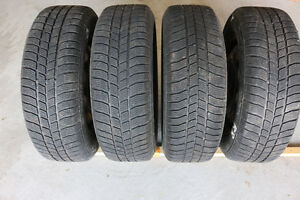 Complete a set of winter tires with rims
