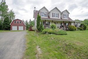 Over 3800 square feet of living space on 36 acres!