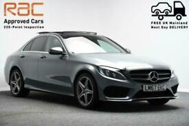 image for 2017 67 MERCEDES-BENZ C-CLASS **PANORAMIC SUNROOF** 2.0 C 200 4MATIC AMG LINE PR