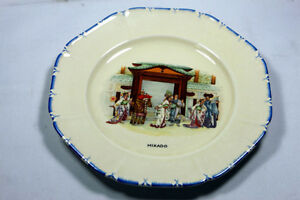 Antique Coronetware Parrot & Company plates Mikado & Gondoliers Kingston Kingston Area image 3