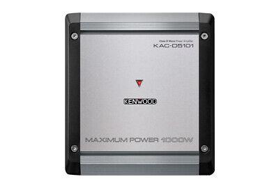 Nouveau Kenwood KAC-D5101 1000 Watts MAX Monoblock Class D Car Subwoofer Amplifier