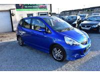 Honda Jazz 1.4i-DSI CVT-7 Sport 5 DOOR AUTO 200MY+BLUE
