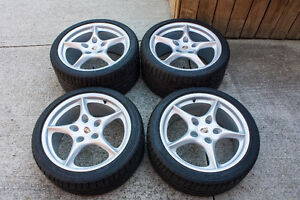 Porsche 911 (996) MY02 wheels and tires