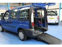 Fiat Doblo Wheelchair car mobility vehicle for disabled passenger mobility van