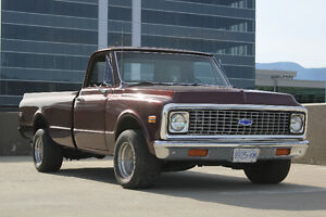 Rare 1972 Chevrolet Cheyenne W/ Factory Bucket Seats