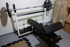 Northern Lights Olympic weight training set