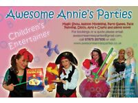 Children's Parties & Entertainer, Balloons modeller, Face painting, Magic show, puppets, games