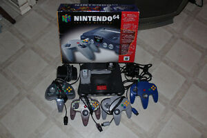 Complete Boxed N64 System with Extras! $270 (780) 475-7870