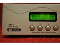 ACOUSTIC SOLUTIONS SP111 DAB/FM TUNER Includes Full Remote HIFI Seperate.