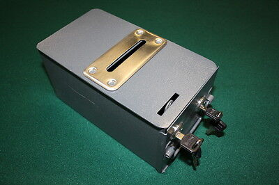 POKER TABLE Replicate LOCKING HOME STYLE TOKE BOX + BILL SLOT