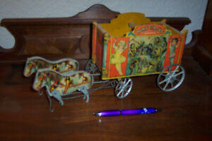 Circus Wagon Antique Toy 1927