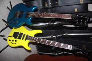 guitars for sale - guitares à vendre