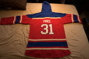 Montreal Canadiens Jersey Hoodie for Sale *XXL*