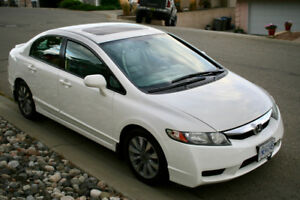 2010 Honda Civic EX-L 5 speed manual with Leather Seats
