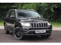 2012 JEEP COMPASS BLACK EDITION ESTATE PETROL