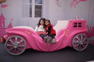 Princess Carriage Toddler bed for girls - supercarbeds