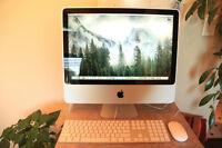 "20"" Silver iMac,Yosemite, C2D, 4Gb, 250Gb Office, iLife, iWork,"